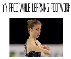 figure skating, so true, and footwork image