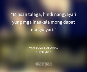 life, quotes, and tagalog image