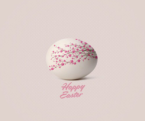 easter, egg, and pink image