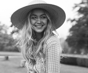 gigi hadid, model, and smile image