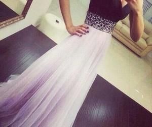dress, black, and Prom image