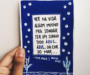 Dream, blue, and tim maia image
