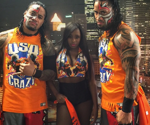 naomi, the usos, and jimmy uso image