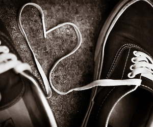 vans, love, and heart image