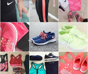 nike, workout, and fashion image