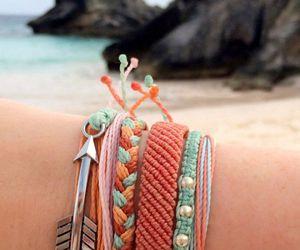 arrow, bracelet, and fashion image