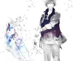 alone, black and white, and manga image