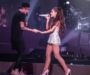 justinbieber and arianagrande image