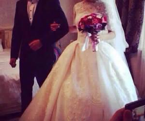 wedding, dress, and mariage image