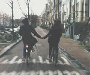 love, couple, and hipster image