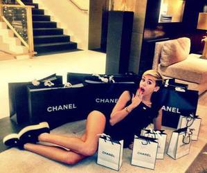 chanel, miley cyrus, and fashion image