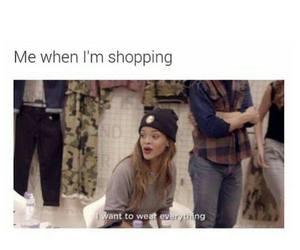 shopping, funny, and rihanna image