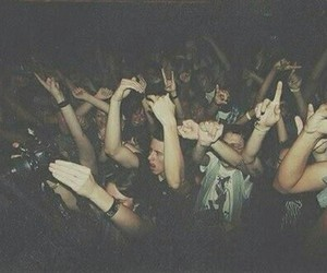 party, concert, and grunge image
