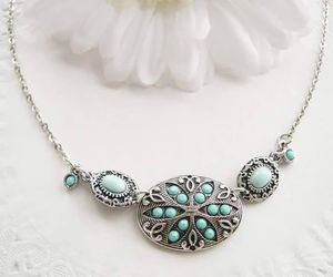 beauty, diamond, and necklace image