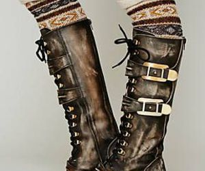 boots, hipster, and vintage image