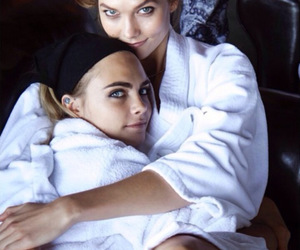 model, cara delevingne, and Karlie Kloss image