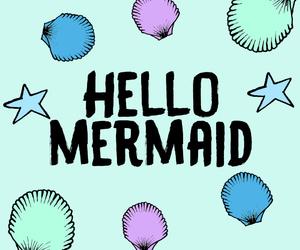 mermaid, sea, and wallpaper image
