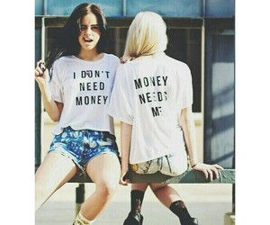 cool, girl, and money image