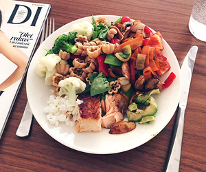 food, love, and healthy image