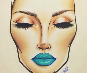 mac, art, and makeup image