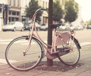 bike, pink, and vintage image