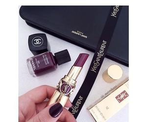 lipstick, chanel, and YSL image