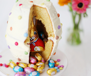 easter, cake, and egg image