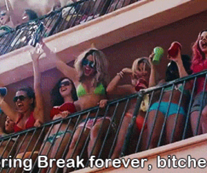 spring breakers, selena gomez, and bitch image