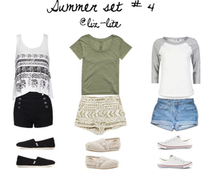 Polyvore, summer clothes, and polyvore outfits image