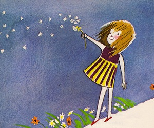 dandelion, flowers, and illustration image