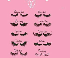 beauty, different, and eyelashes image