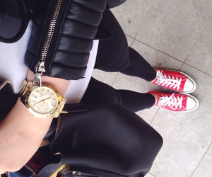 converse, bag, and style image