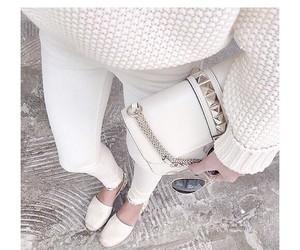 denim, style, and white image