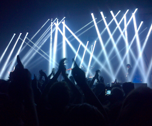 concert, light, and grunge image