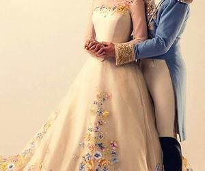 cinderella, disney, and dress image