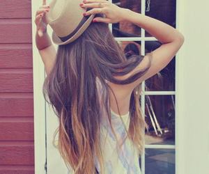 hair, hat, and hipster image