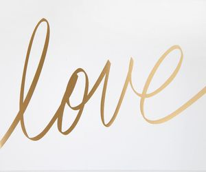 cursive, cute, and gold image