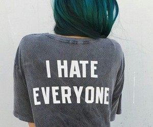 hate, hair, and grunge image