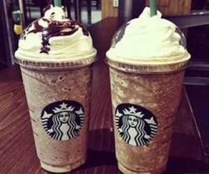starbucks, chocolate, and delicious image