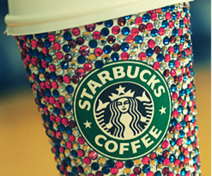 coffee, fashion, and girly image