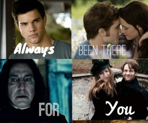 harry potter, twilight, and the hunger games image