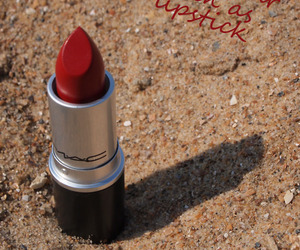 lipstick, mac, and text image