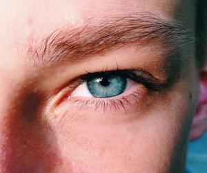 blue, eyebrow, and eye image