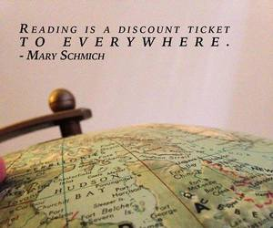 reading and traveling image