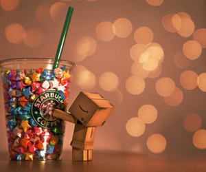 starbucks, stars, and coffee image