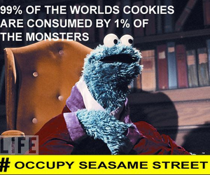 cookie, funny, and monster image