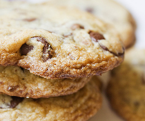 cookie, yum, and chocolate image