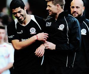 Steven Gerrard, fc barcelona, and liverpool fc image