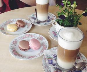 coffee, dessert, and food image