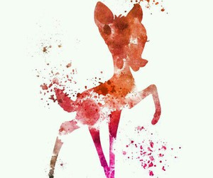 bambi, disney, and art image